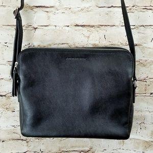 Banana Republic leather purse black NWOT